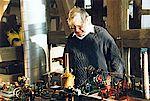 Ein Dampfbetriebener Maschinenpark war auch früher sehr beliebt.