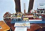 Ein selbstgebautes dampfbetriebenes Schiff